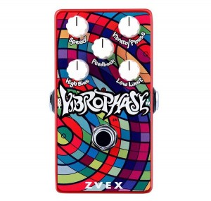 ZVEX Vertical Vibrophase Vibrato/Phaser Pedal
