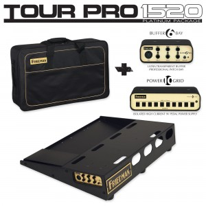 Friedman Tour Pro 1520 Platinum Pack Pedalboard