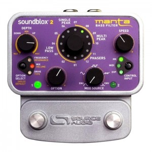 Source Audio SoundBlox 2 Manta Bass Filter Pedal