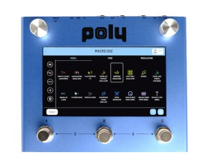 Poly Effects Beebo Multi-Modulation & Synth Pedal