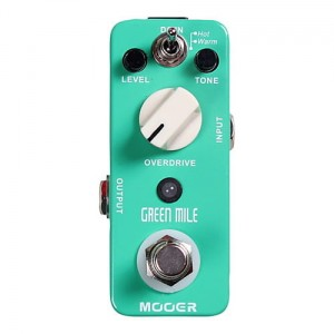 Mooer Green Mile Overdrive Micro Pedal