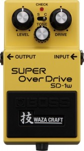 BOSS SD1W Super Overdrive Waza Craft Special Edition