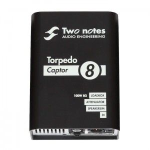 Two Notes Torpedo Captor 8 Ohms Loadbox DI & Attenuator