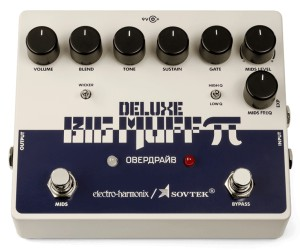 Electro-Harmonix Sovtek Deluxe Big Muff Pi Fuzz/Distortion/Sustainer Pedal