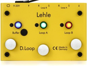 Lehle D. Loop SGoS Effects Looper / Switcher Pedal