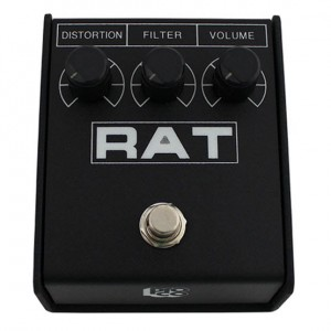 ProCo RAT 2 Distortion / Fuzz / Overdrive Pedal