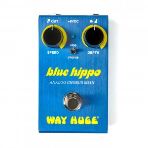 Way Huge WM61 Smalls Blue Hippo MkIII Analog Chorus Pedal