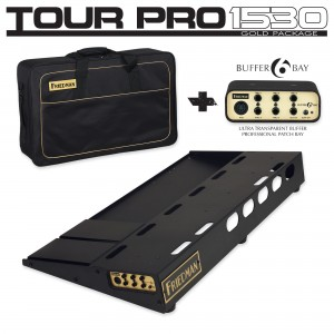 Friedman Tour Pro 1530 Gold Pack Pedalboard