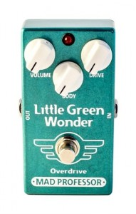 Mad Professor Little Green Wonder Overdrive (Factory Pedal)