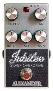 Alexander Jubilee Overdrive Pedal