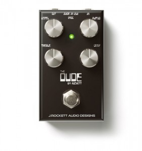 J. Rockett The Dude V2 Overdrive & Distortion Pedal
