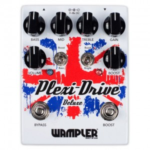 Wampler Plexi Drive Deluxe British Overdrive Pedal
