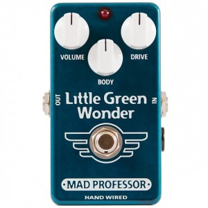 Mad Professor Little Green Wonder Hand Wired Pedal
