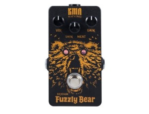 KMA Machines Fuzzly Bear Silicium Fuzz Pedal
