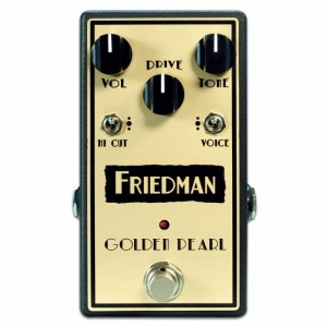 Friedman Golden Pearl Low Gain Overdrive Pedal