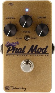 Keeley Super Phat Mod Transparent Overdrive Pedal