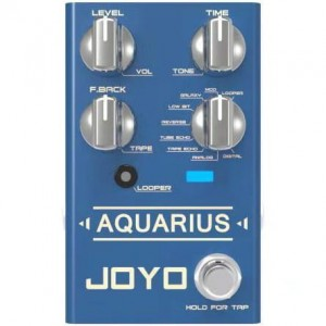 Joyo R-07 Aquarius Multi-Mode Digital Delay & Looper Pedal