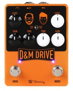 Keeley D&M Drive and Boost Pedal