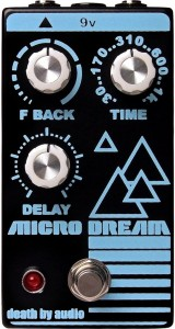 Death By Audio Micro Dream Lo-Fi Delay Pedal