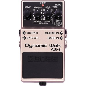 BOSS AW3 Dynamic Wah Guitar Effects Pedal