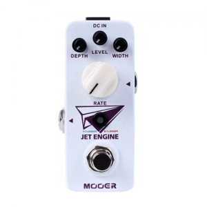 Mooer Jet Engine Digital Flanger Pedal