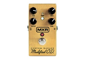 MXR M77 Custom Badass Modified O.D Overdrive Pedal