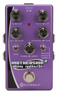 Pigtronix Mothership 2 Analog Synthesizer Pedal
