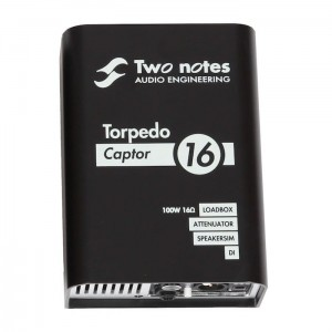 Two Notes Torpedo Captor 16 Ohms Loadbox DI & Attenuator