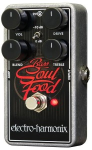 EHX Bass Soul Food Overdrive Pedal