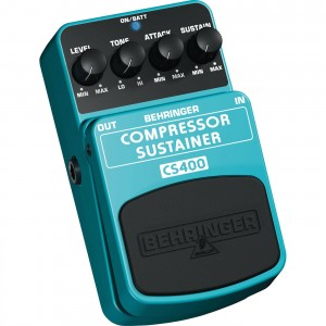 Behringer Compress/Sustainer CS400 Pedal