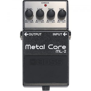BOSS ML2 Metal Core Distortion Pedal