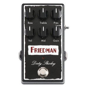 Friedman Dirty Shirley Overdrive Pedal