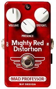 Mad Professor Mighty Red Distortion Hand Wired Pedal