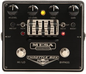 Mesa Boogie Throttle Box EQ Distortion Pedal