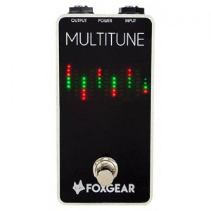 FoxGear Multitune Polyphonic Tuner Pedal
