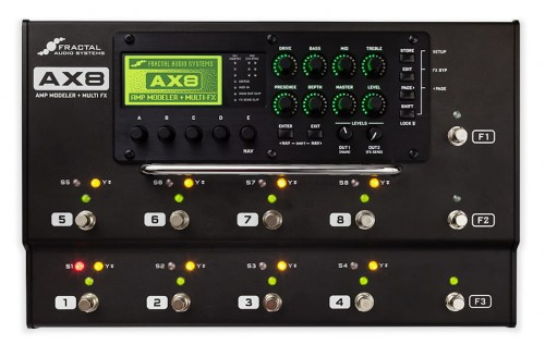 Fractal Audio AX8 Amp Modeler/Multi-FX Processor