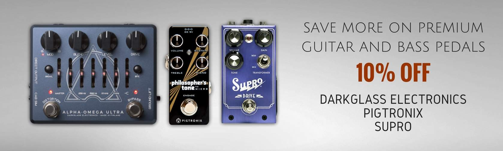 Darkglass Supro Pigtronix