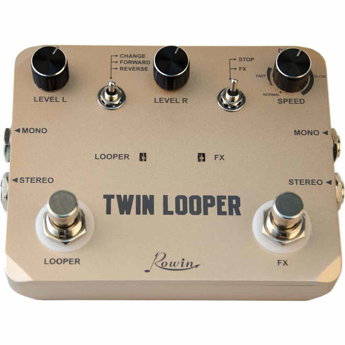 rowin ltl 02 twin looper pedal. Black Bedroom Furniture Sets. Home Design Ideas
