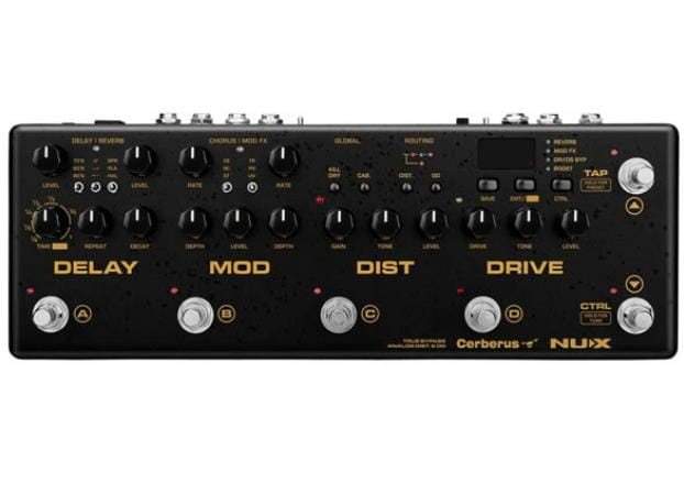 nux cerberus integrated effects and controller pedal free adaptor. Black Bedroom Furniture Sets. Home Design Ideas