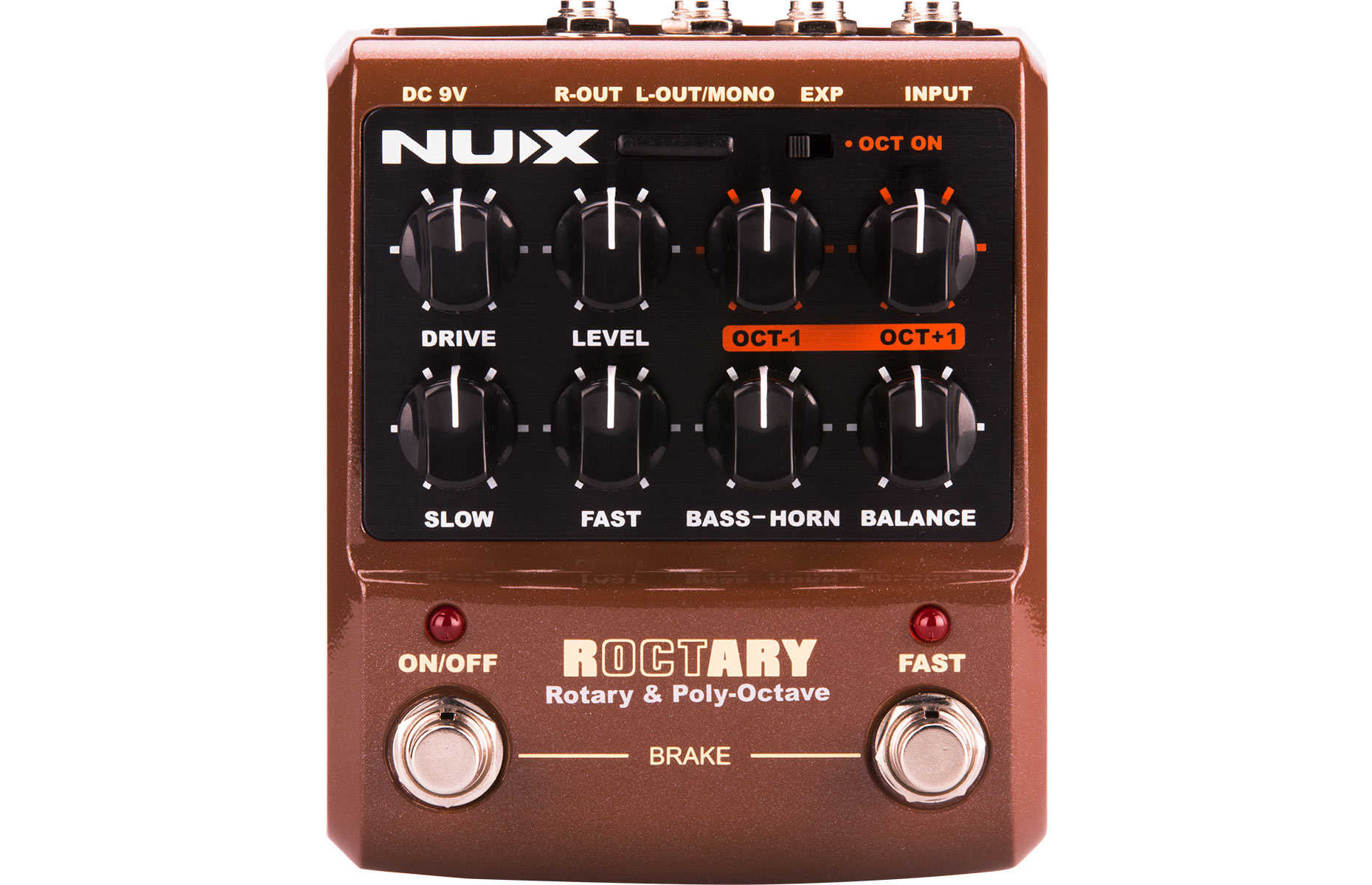 buy nux roctary simulator polyphonic octave pedal. Black Bedroom Furniture Sets. Home Design Ideas