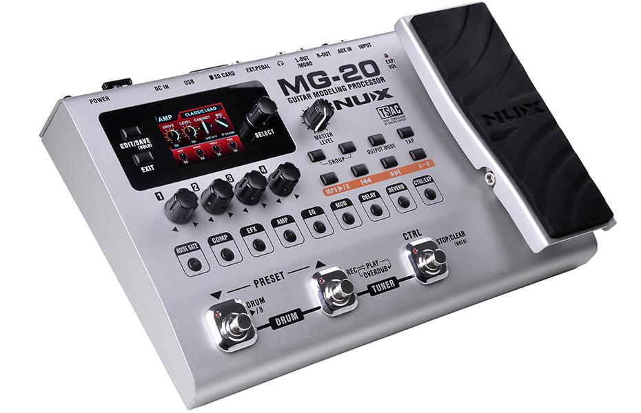 nux mg20 guitar modeling processor. Black Bedroom Furniture Sets. Home Design Ideas