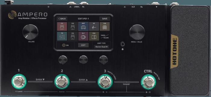 Hotone Ampero Amp Modeler/Effects Processor