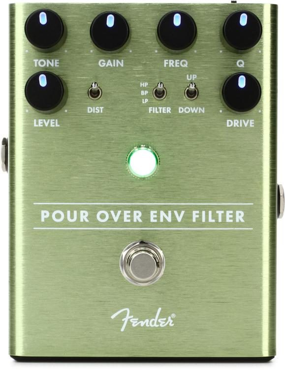 Auto Wah Bass Guitar Effects Pedal Envelope Filter Equalization