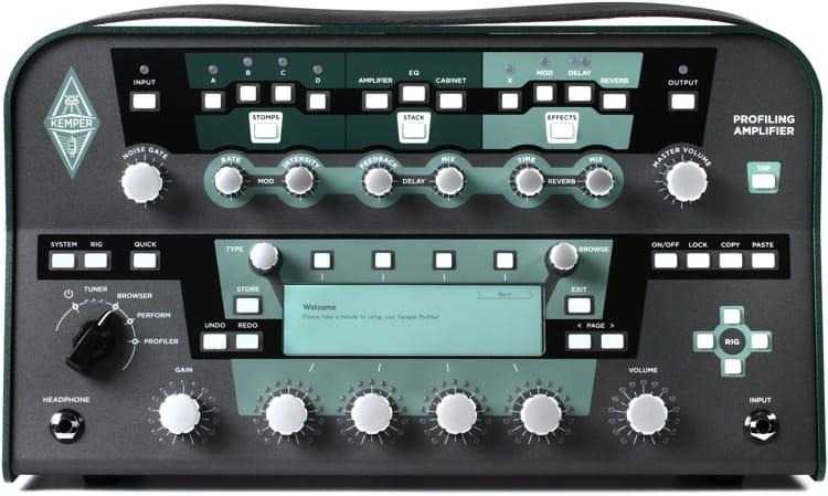 kemper profiling amplifier head black. Black Bedroom Furniture Sets. Home Design Ideas