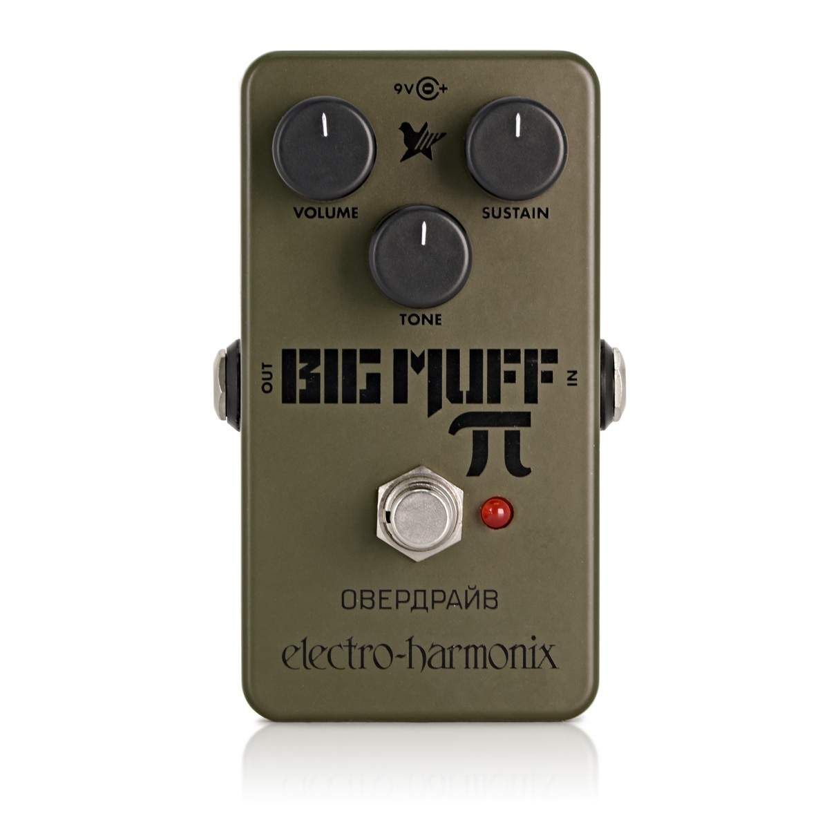 electro harmonix green russian big muff pi distortion sustainer pedal. Black Bedroom Furniture Sets. Home Design Ideas