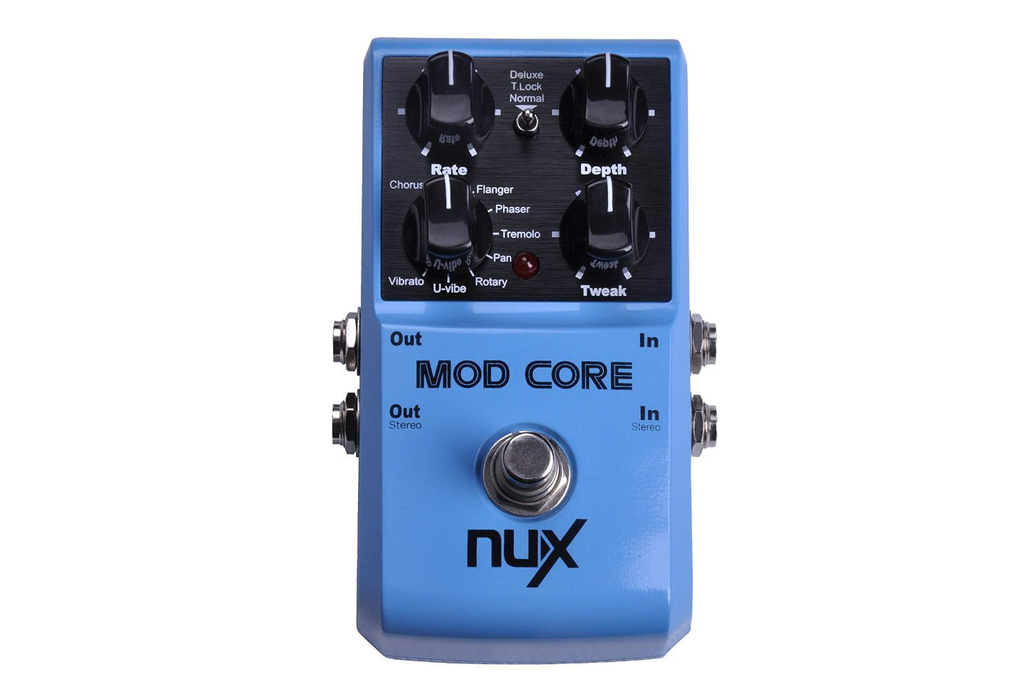 nux mod core deluxe modulation effects pedal. Black Bedroom Furniture Sets. Home Design Ideas