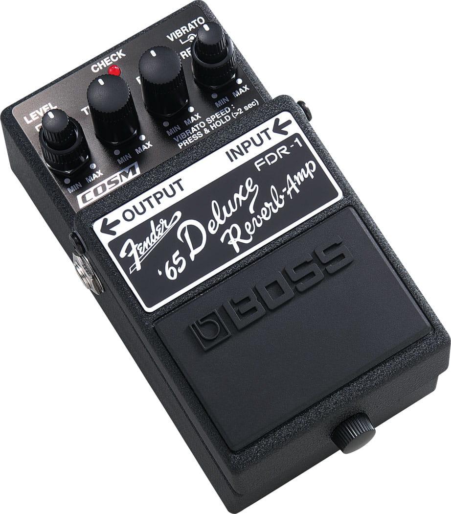 Boss Fdr 1 Fender 65 Deluxe Reverb Stompbox In