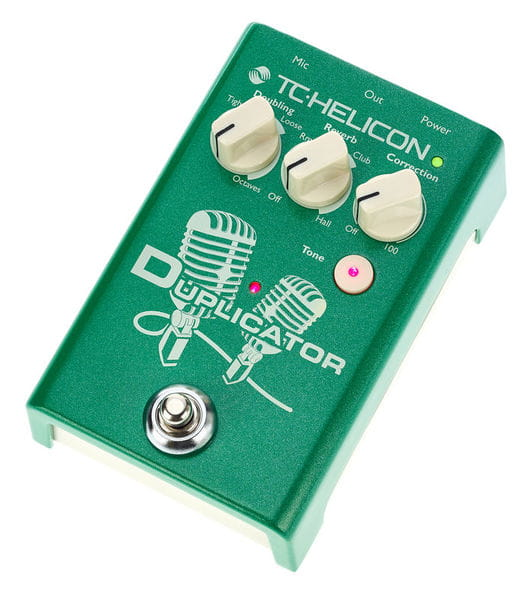 tc helicon duplicator vocal effects pedal. Black Bedroom Furniture Sets. Home Design Ideas