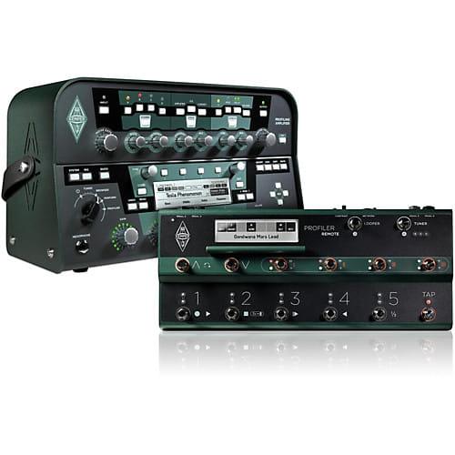kemper profiling amplifier head black with remote. Black Bedroom Furniture Sets. Home Design Ideas