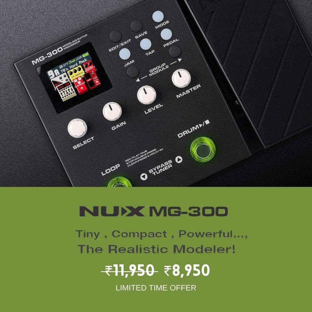 NUX MG300